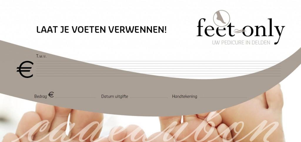 cadeaubon Feet Only Pedicure Delden